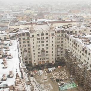 ЖК Русский дом,ход строительства,этапы работ,вид,виды